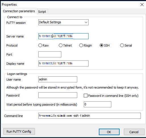 SSH connection to Cisco IMC
